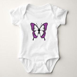 Purpurfärgad fjäril tröjor