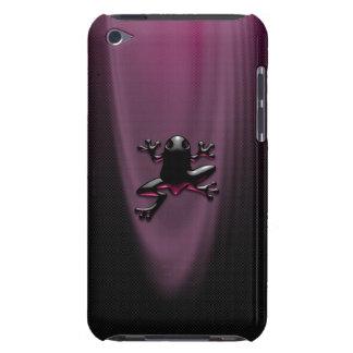 Purpurfärgad Froggyipod touch case iPod Case-Mate Fodral