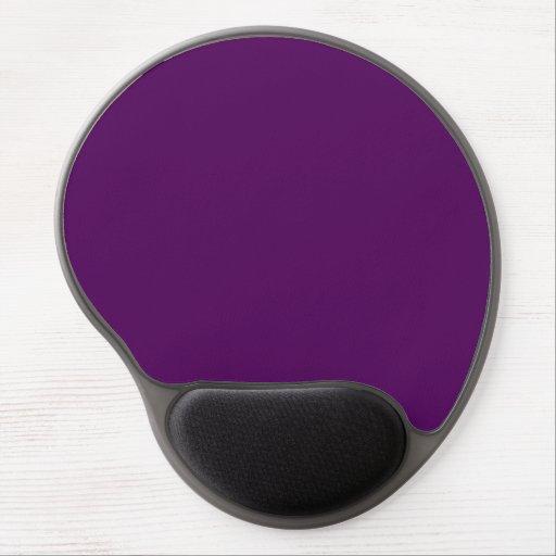 Purpurfärgad Gel Mousepad Gelé Mus-matta