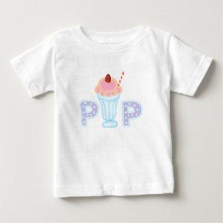 Purpurfärgad glasspop t shirt