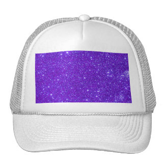 Purpurfärgad gnistraglitteranpassad design ditt keps