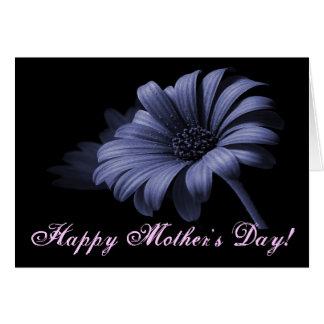 Purpurfärgad grå färgdaisy för lycklig mors dag