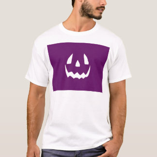 Purpurfärgad happy halloween tröjor