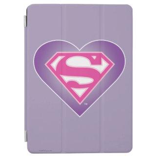 Purpurfärgad hjärta S-Skyddar iPad Air Skydd