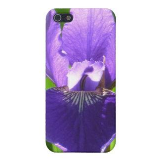 Purpurfärgad Iris iPhone 5 Skydd