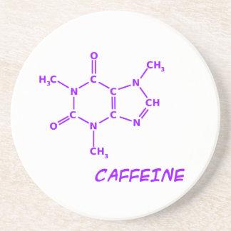 Purpurfärgad koffeinmolekylkustfartyg underlägg sandsten