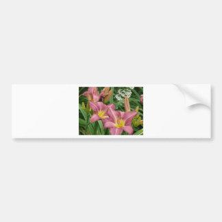 purpurfärgad lilja bildekal