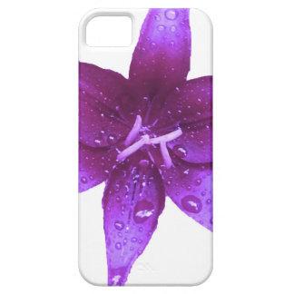 Purpurfärgad lilja iPhone 5 Case-Mate fodraler