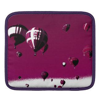 Purpurfärgad luftballongipad sleeve