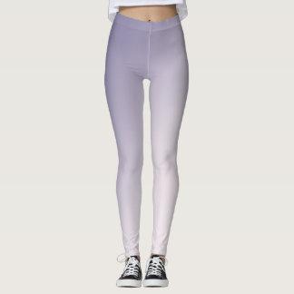 Purpurfärgad lutning leggings