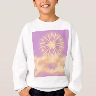 Purpurfärgad Mandala T Shirts