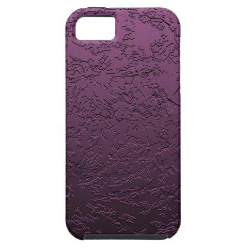 Purpurfärgad måne iPhone 5 cases