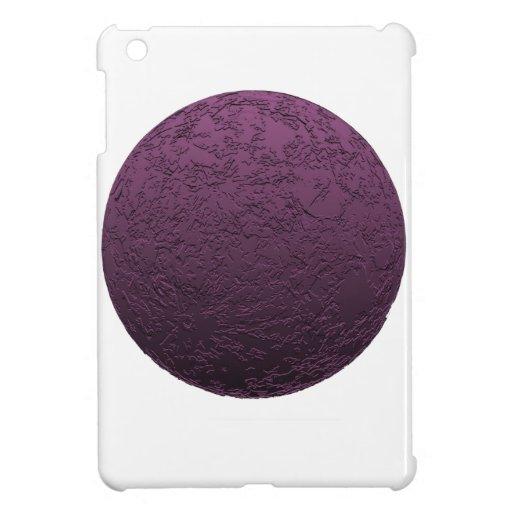 Purpurfärgad måne iPad mini skal