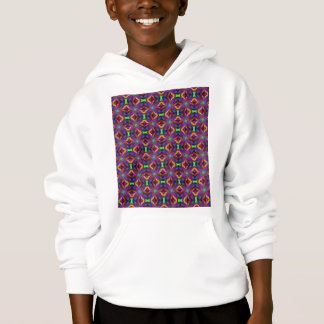 Purpurfärgad mönstrad tulpanFractal T Shirt