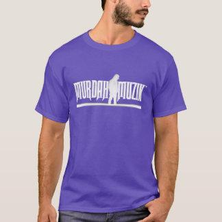 Purpurfärgad Murdah Muzik™ utslagsplats Tshirts