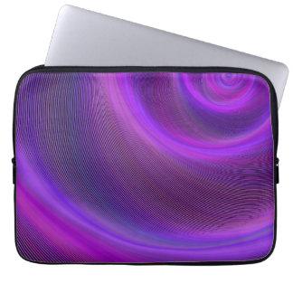 Purpurfärgad nattstorm laptop fodral