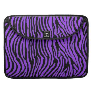 purpurfärgad pro zebra rändermacbook viftar med sl sleeves för MacBooks