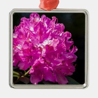 Purpurfärgad Rhododendron Julgransprydnad Metall