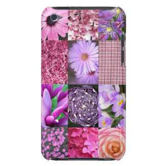 Purpurfärgad/rosa fotoCollage Case-Mate iPod Touch Skydd