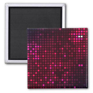 Purpurfärgad skina mosaikkonst magnet