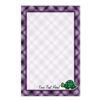 Purpurfärgad sköldpadda brevpapper