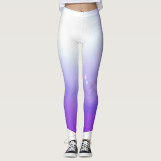 Purpurfärgad strålkastare för sportar för leggings