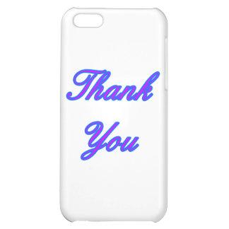 Purpurfärgad tackdesign för blått den MUSEUMZazzle iPhone 5C Mobil Skydd