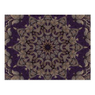 Purpurfärgad Tapestry No5 Vykort