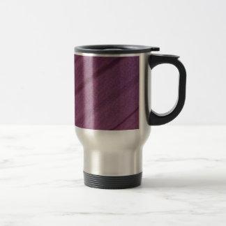 Purpurfärgad travel mug med lilla veck resemugg