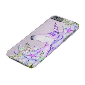 purpurfärgad unicorniphone case barely there iPhone 6 skal