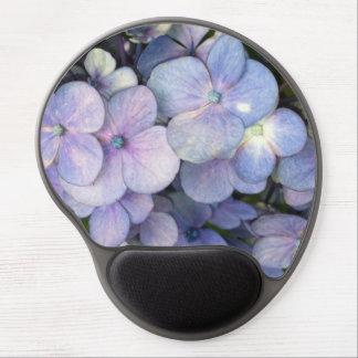 Purpurfärgad vanlig hortensiaGel Mousepad för Gel Musmatta