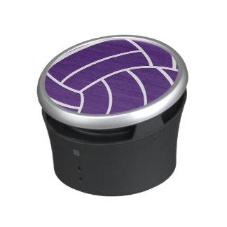 Purpurfärgad volleybollhögtalare högtalare