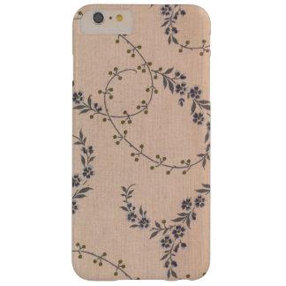 Purpurfärgade bär för guld för lavendelblommaVines Barely There iPhone 6 Plus Skal
