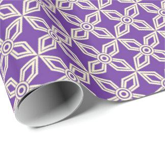 Purpurfärgade designer presentpapper