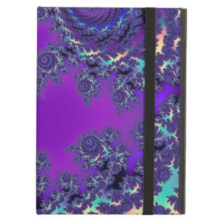 Purpurfärgade FractalMonogramfodral och sleever Fodral För iPad Air