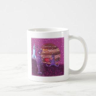 Purpurfärgade hårigCyclops över Jupiter Kaffemugg