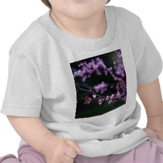 Purpurfärgade knoppar t-shirt