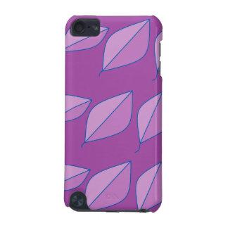 Purpurfärgade löv iPod touch 5G fodral