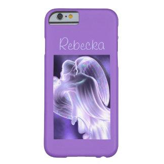 Purpurfärgat ängeltelefonfodral barely there iPhone 6 fodral