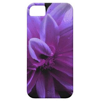 Purpurfärgat blommigttelefonfodral iPhone 5 Case-Mate cases