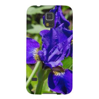 Purpurfärgat fodral för IrisSamsung galax S5 Galaxy S5 Fodral