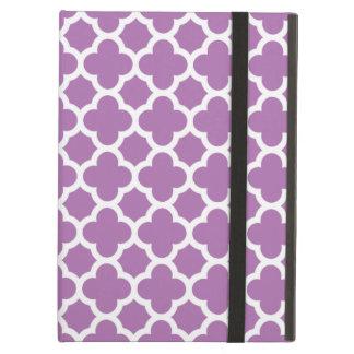 Purpurfärgat fodral för luft för iPad för