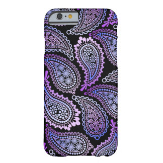 Purpurfärgat fodral för Paisley iPhone 6 Barely There iPhone 6 Fodral