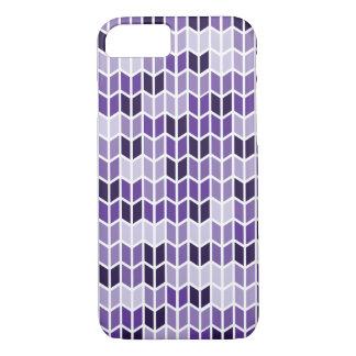 Purpurfärgat geometriskt mönster