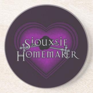 Purpurfärgat handarbete för Siouxsie Homemaker Underlägg Sandsten