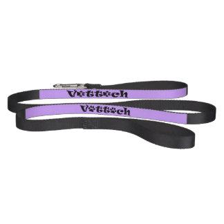 purpurfärgat koppel för vettechhund