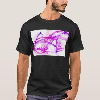 Purpurfärgat och rosa bläck i vatten tee shirts