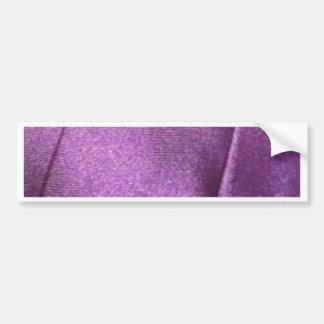purpurfärgat tyg bildekal