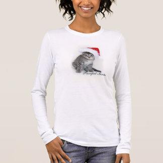 Purrfect Santa t-skjorta T-shirts