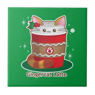 Purrista Pawfee: Ljust rödbrun kattkaffe för Kakelplatta